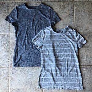 Mossimo Grey Crew Neck T-Shirts Size Small